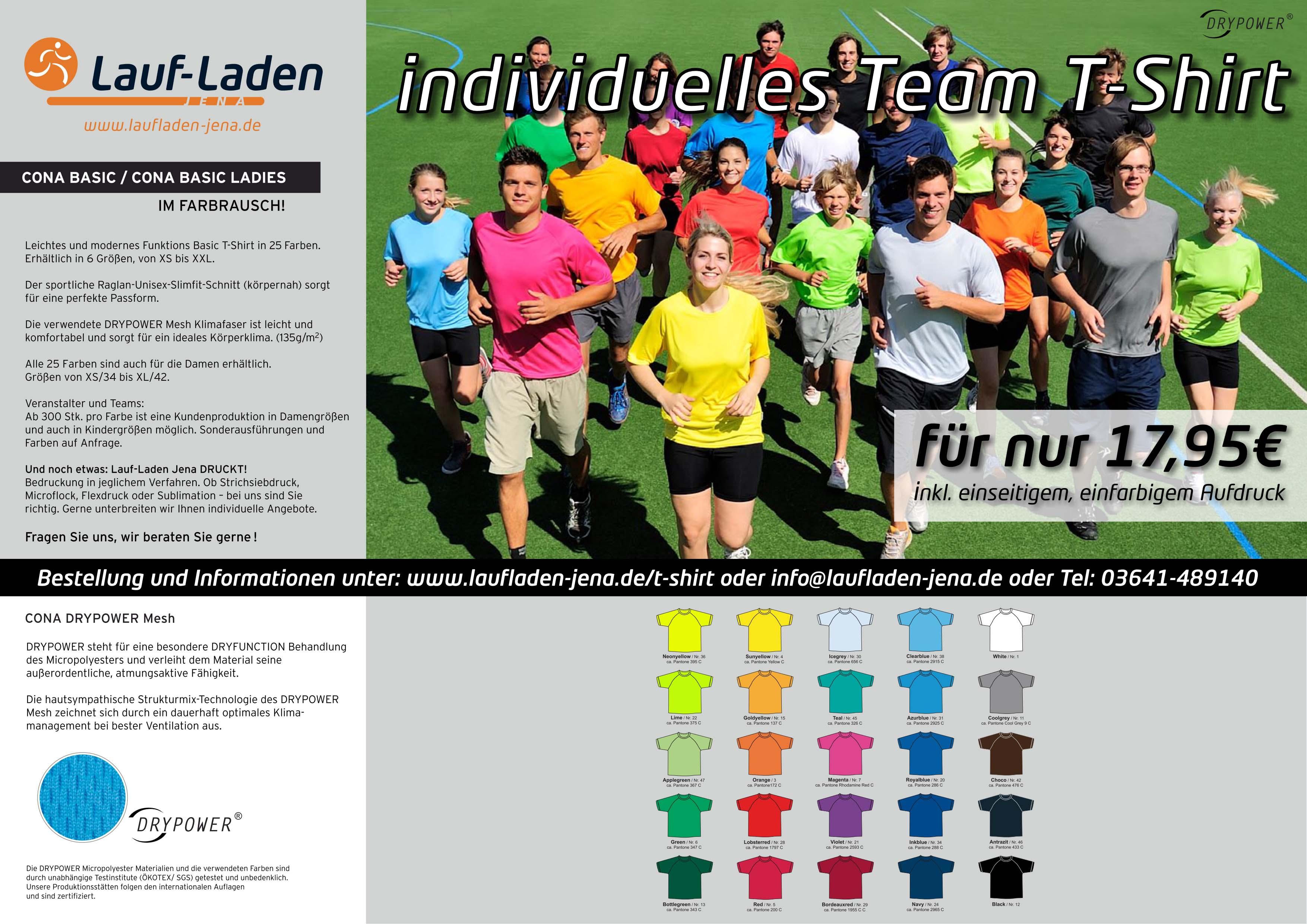 Firmenlauf T-Shirt 2016